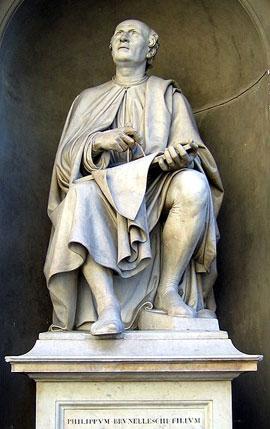 Florence_Brunelleschi-standbeeld