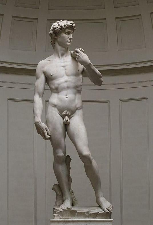 Florence_David_Michelangelo
