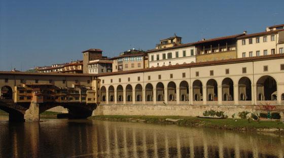 Florence_corridoio-Vasari