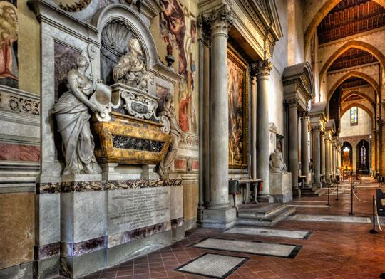 Florence_santa-croce-galileo