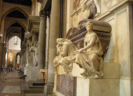 Florence_santa-croce-michelangelo