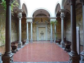Florence-chiostro-dello-scalzo