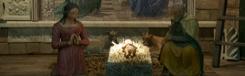 Kerststal in en om de Duomo van Florence