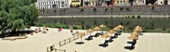 Spiaggia sull'Arno - strand aan de Arno